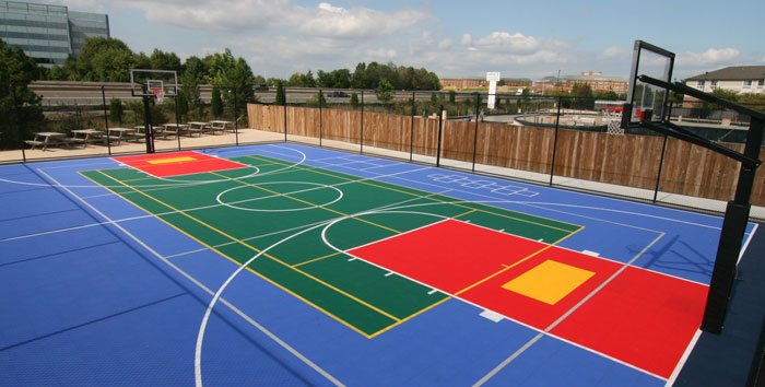 Ae Basketball Grid Court (PP Tiles)