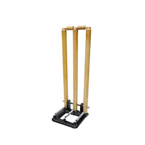 Ae Cricket Wooden Spring Stumps Set